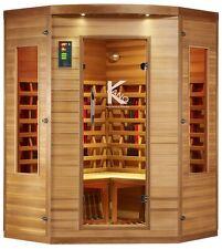Infrarotkabine Infrarot Wärmekabine Infrarotsauna Sauna Zedernholz Wellness NEU