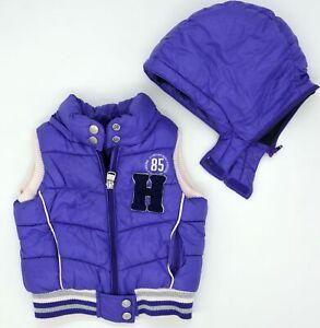 Warm Original Baby Vest with Hood Tommy Hilfiger Size 9-12M 74