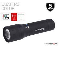 Led Lenser P7QC Quattro Colour Led Torch Authorise Australian Seller - ZL9407Q