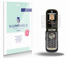 iLLumiShield Anti-Glare Matte Screen Protector 3x for Motorola Brute I680