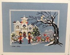 Judith M Kirby Victorians House #13 Cross Stitch Pattern Chart Christmas Scene