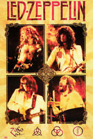 Led Zeppelin 1980'S Band Poster Size 24in x 36in Room Wall Art LMT. EDIT.