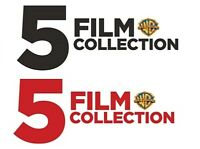 5 FILM COLLECTION * Many options to choose from * DVD * New * w/ Free Shipping U