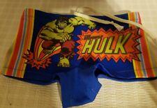 Vintage Kids Incredible Hulk Swimming Trunks Size 4