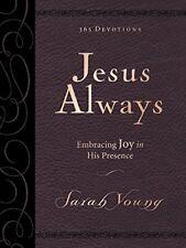 Jesus Always Embracing Joy in His Presence NIV: Large Print Deluxe Sarah Young