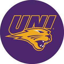 "Northern Iowa Panthers UNI RR 4"" Round Vinyl Magnet Auto Home University of"