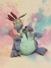 Quest for Camelot DEVON & CORNWALL Plush Beanie 2-Headed Dragon Smuckers 1998