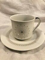 """Royal Doulton """"Morning Star TC1026"""" Teacup and Saucer - Beautiful Condition"""
