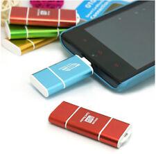 Standard USB & OTG Micro USB microSD/HC Memory Card Reader Writer for Tablet PC