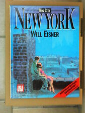 Big City / New York . Will Eisner - Glénat -Comics USA - 1989 - BE