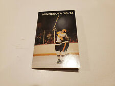 University of Minnesota 1983/84 Men's Hockey & Basketball Pocket Schedule