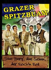 Grazer Spitzbuam Autogrammkarte Original Signiert ## BC 95864