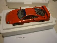 A Franklin mint scale model car of a 1989 Ferrari F40, boxed