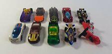 Hot Wheels Loose Cars 10 Cars Pharodox Whip Creamer Power Rage Sharkruiser