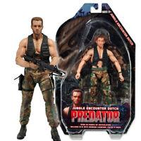 "NECA Predator Jungle Encounter Dutch Arnold 7"" Action Figure Predators Series 9"