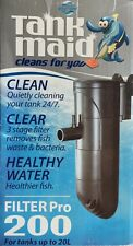 Blue Planet Tank maid Filter Pro 200 - Internal Filter for Tanks up to 20Lt