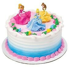 Disney Princess Once Upon a Moment Cake Topper Cinderella Belle Aurora