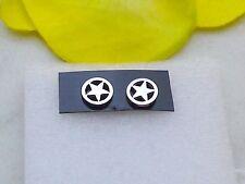 Edelstahl Ohrstecker *Stern Pentagramm Ohrringe Star Gothic Ohrschmuck 1 Paar