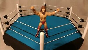 6 Sided - Custom Toy Wrestling Ring - Pro Action Ring - Scaled - WWE AEW WCW TNA