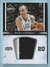 MANU GINOBILI 2011/12 LIMITED 3 COLOR JUMBO con parche / 5 Spurs