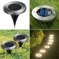 20LED Solar Power Ground Light Floor Decking Patio Outdoor Garden Lawn Path Lamp