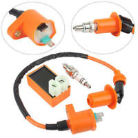 Racing Performance CDI Ignition Coil Spark Plug Fit for Gy6 50cc 125cc 150cc