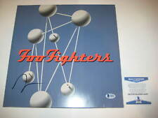 TAYLOR HAWKINS Signed FOO FIGHTERS' THE COLOUR & SHAPE LP Cover + Beckett COA