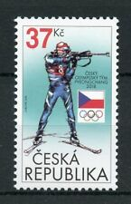 Czech Rep 2018 MNH Winter Olympics PyeongChang 1v Set Biathlon Sports Stamps