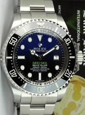 ROLEX James Cameron Stainless DEEPSEA SeaDweller Blue Gradient 116660 SANT BLANC