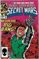 Marvel Super Heroes Secret Wars #12 - 1984 limited 12 issue series, Near Mint