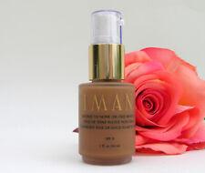 IMAN Second To None Oil-Free Makeup Earth 2 Pump 1 oz Dark Beige Tan Foundation