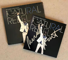 RICHARD ASHCROFT * NATURAL REBEL * 10 TRK CD w/ SIGNED BOOKLET * BN! * THE VERVE