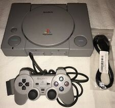 Modded Sony PlayStation 1 Launch Edition - AUDIOPHILE - RCA Jacks SCPH-1001 MM3