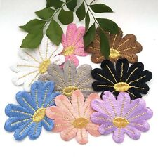 1 pcs Flower Embroidered Cloth Iron On Patch Applique craft sewing clothing #187