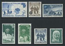 1957-61 Australian Antarctic Territory (AAT) Predecimal Set MNH (SG 1-7)