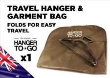 Hanger to Go Combo Hanger & Clothes Garment Bag Light & Folds for Easy Travel X1