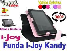 "FUNDA TABLET i-JOY KANDY 7"" UNIVERSAL GIRATORIA AJUSTABLE"