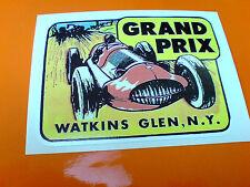 WATKINS GLEN N.Y. Grand Prix Classic Retrò Vintage Decalcomania Adesivo 1 OFF 85mm