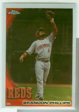 Brandon Phillips Cincinnati Reds 2010 Topps Chrome Card