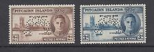 Pitcairn Islands Sg 9S-10S Mnh.1946 Peace, cplt set, Specimen in arc