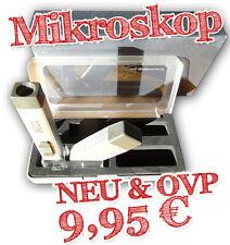 Handmikroskop 30x in edler Geschenkbox, NEU & OVP
