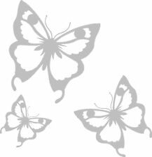 Butterfly Etch Etched Frosted Window Mirror Stickers #1
