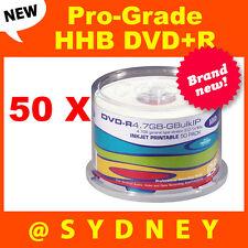 50x NEW HHB DVD-R4.7GB-GBulkIP Pro-Grade Recordable DVD Blank Discs