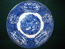 Flow Blue Plate Malta Franz Melhem Bonn Germany