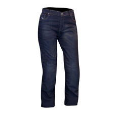 Route One Womens Olivia Classic Short Denim Abrasion Resistant Motorcycle Jeans