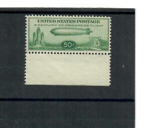 US Scott # C18 UNUSED / VF / NO GUM  50¢  Baby Graf Zeppelin Air Mail Stamp