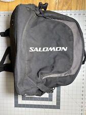 Salomon Ski Boot Bag Black Preowned