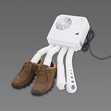 Zapato Bota Secadora Calentador eléctrico calentador de Deportes húmedo desinfectante Portátil Blanco