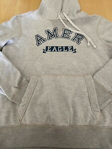 American Eagle Hoodie, Grey, Small, excellent condition.