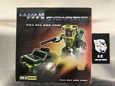 Transformers iGear Mini Warriors MW-03 Hench ( Brawn ) 100% Complete